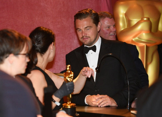 Sosyal medyada Leonardo DiCaprio olay oldu