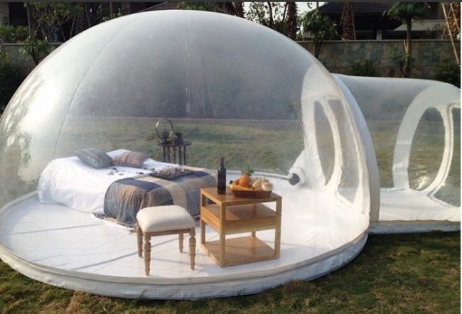 Balon evler yeni moda oldu