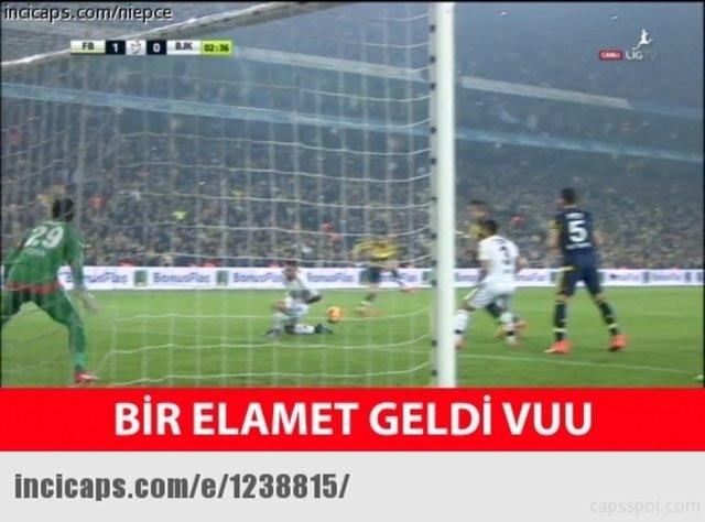 Fenerbahçe, Beşiktaş'ı yendi, capsler patladı !