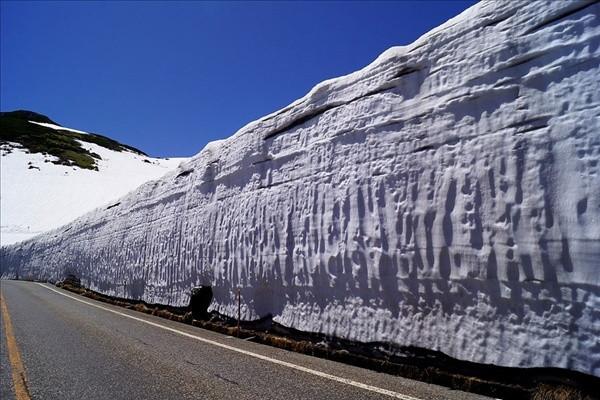 15 metre kar yağdı yollar kapanmadı !