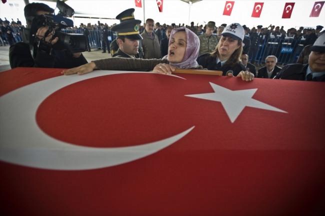 Mardin şehinin cenazesinde gözyaşları sel oldu !