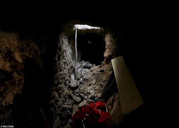 IŞİD'in gizli tünelleri ortaya çıktı