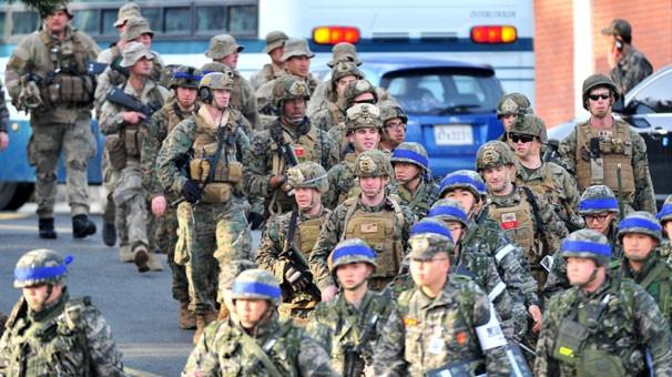 315 bin askerin katıldığı dev tatbikat