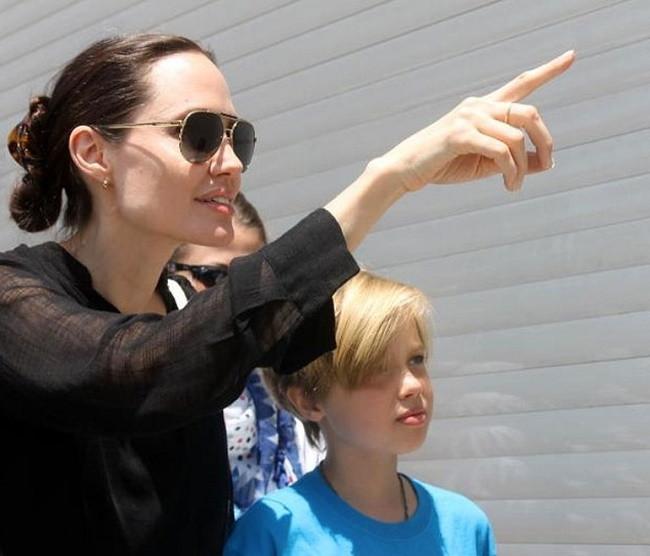 Shiloh Jolie Pitt tam da annesinin kızı