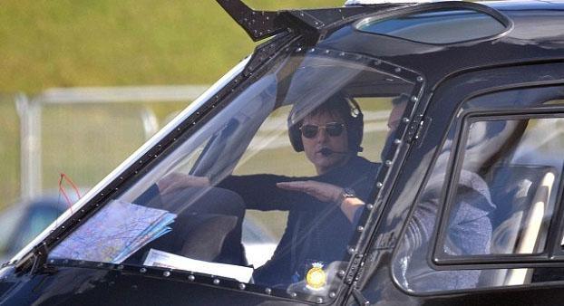 İşte uçak ya da helikopter kullanan ünlüler