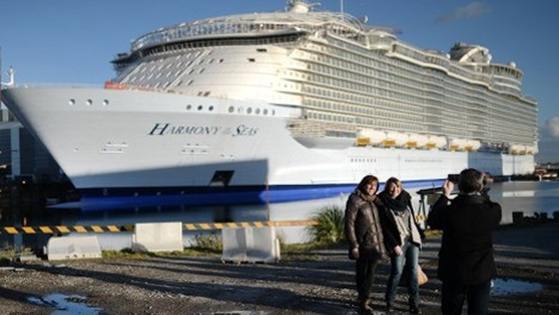 İşte dünyanın en büyük gemisi