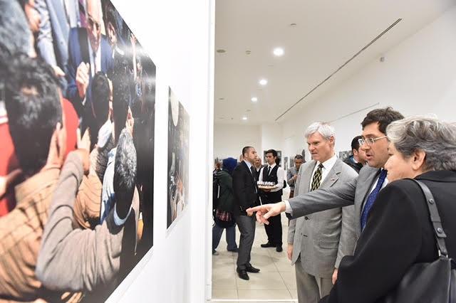 Yaşar Kemal'e bir Ara'lık bakış sergisi açıldı
