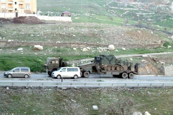 Şırnak'a Zırhlı Araç Takviyesi