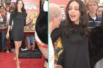 Angelina göz kamaştırdı