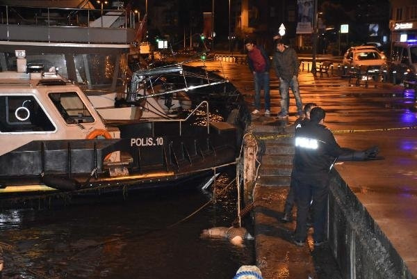 Beşiktaş'ta denizde erkek cesedi bulundu