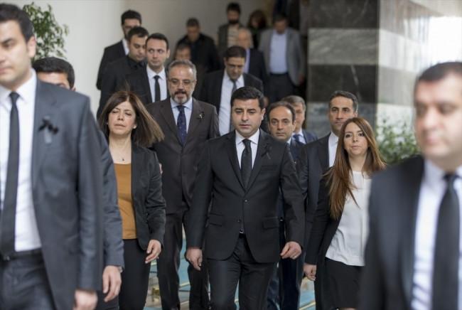 HDP Grup toplantısında dikkat çeken ayrıntı!