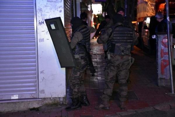 İstanbul Fatih'te operasyon !