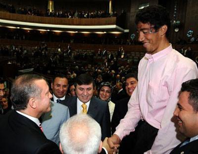 Erdoğan gözlerine inanamadı