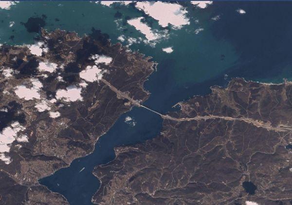 3.Köprü uzaydan takip edildi