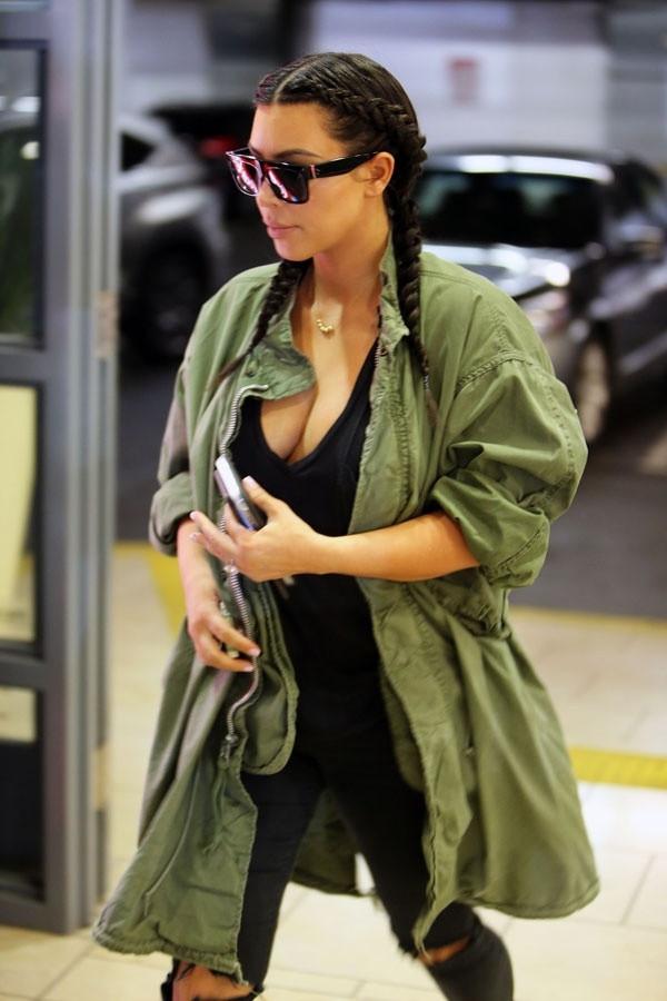 Kim Kardashian kocası Kanye West'i çıldırttı
