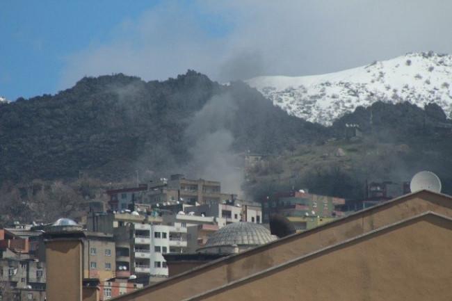 Asker, Şırnak kent merkezine girdi