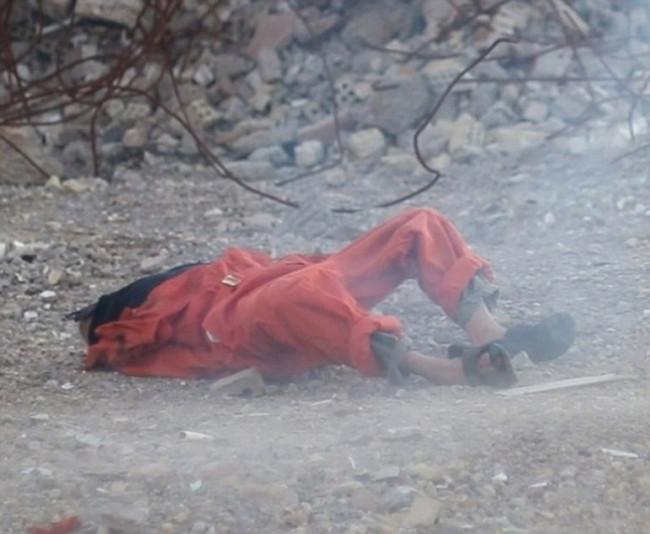 IŞİD'den kan donduran yeni infaz
