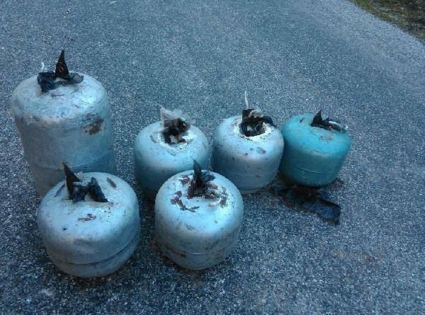 650 Kilo bomba imha edildi