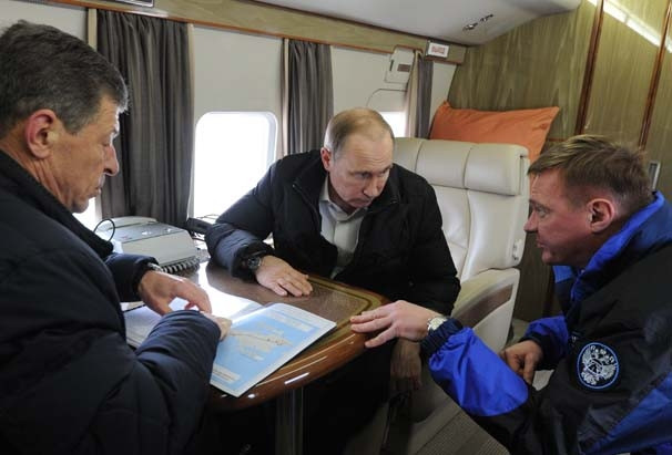 Putin'den Kırım ziyareti