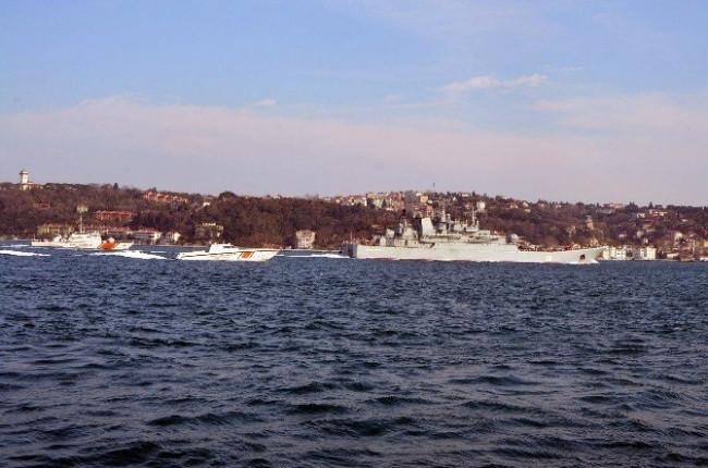Rus gemisi İstanbul'da