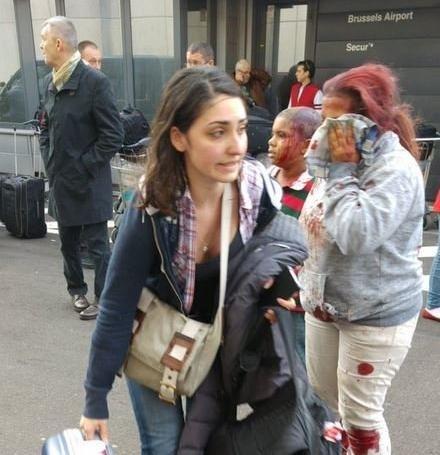 Brüksel Havaalanı'ndan son görüntüler (10 Ölü)