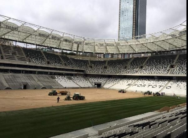 Vodafone Arena'nın işte son hali