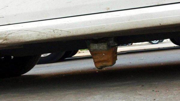 Hainler Polis'in özel arabasına bomba koydular!