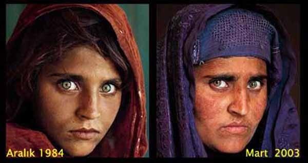 Afgan kızının yıllar sonraki haline mutlaka bakın !