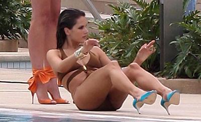 Alessandra Ambrosio formuna kavuştu