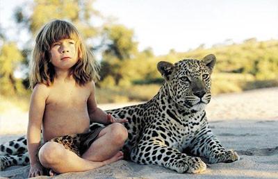 İşte Tarzan kız