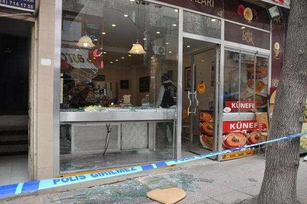Aranan teröristin amcasına saldırı