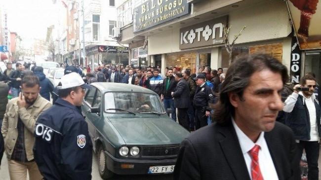 Edirne'de tehlikeli gerginlik