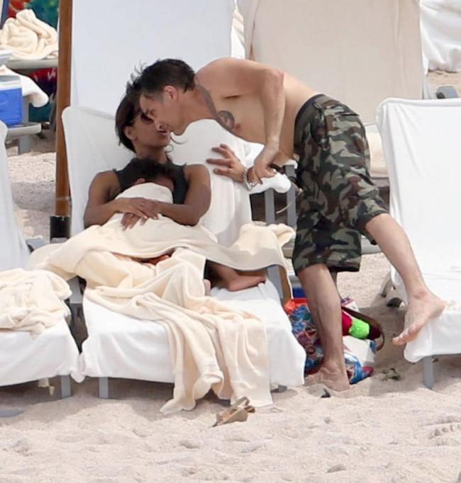 Halle Berry ile Olivier Martinez tatile çıktı