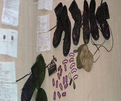 Hainler Jandarma kıyafeti giyip sızma yapacalardı!