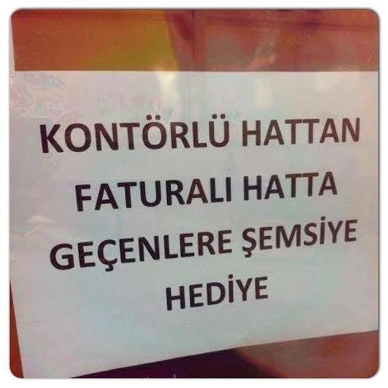 Böylesi ancak Türkiye'de olur !