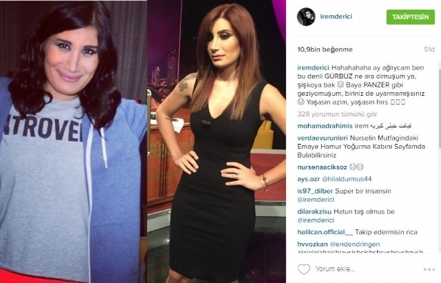 İrem Derici'nin eski hali sosyal medyayı salladı !
