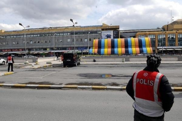 İstanbul otogarında büyük panik