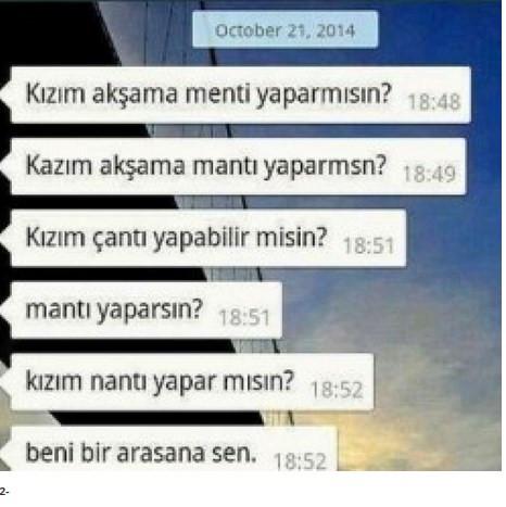 Fenomen olmuş WhatsApp görüşmeleri!