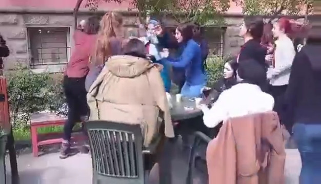 Üniversitede taciz ve tehdit dayağı !