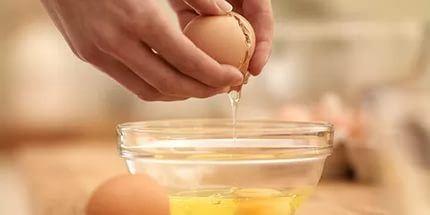 Yumurtaları buz kalıbında dondurunca...