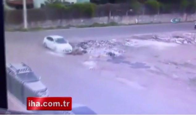 Hainler bombalı aracı böyle koydu!