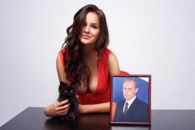 İşte Putin'in yeni sevgilisi...
