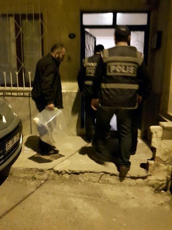 İzmir'de IŞİD operasyonu !