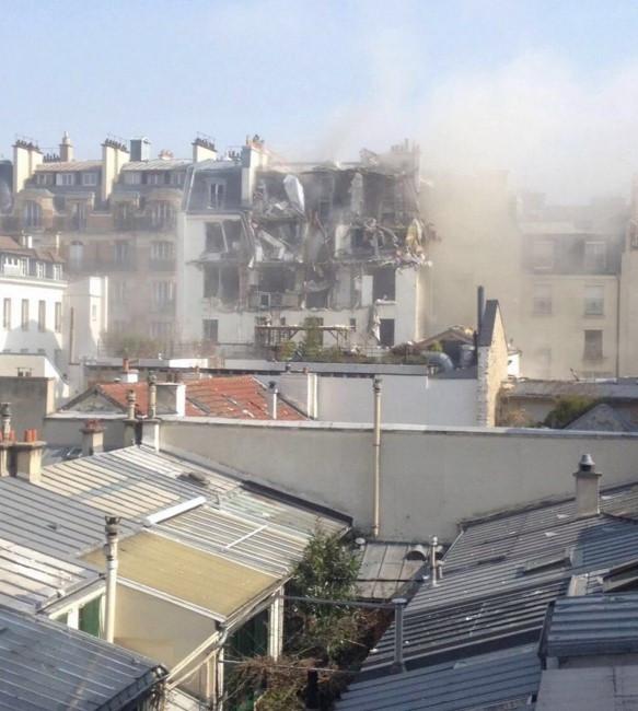 Paris'te büyük patlama