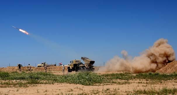 IŞİD'e havadan, karadan operasyon