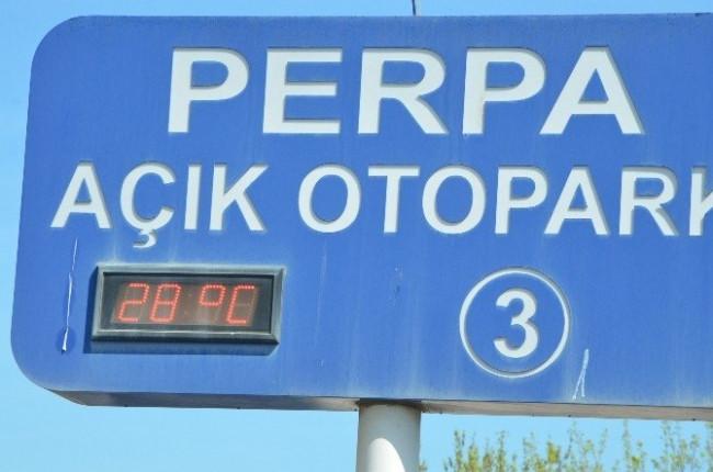 İstanbul 28 dereceyi gördü
