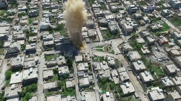 Nusaybin'de bombalı tuzaklar tek tek temizleniyor