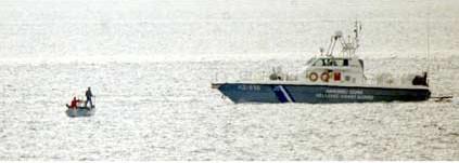 Türk balıkçıyı böyle taciz ettiler