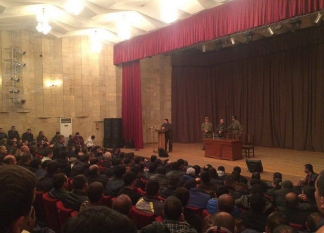 Ermenistan'da seferberlik ilanı