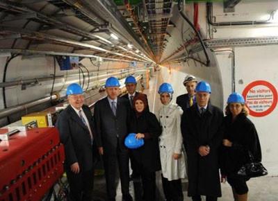 Erdoğan CERN'i gezdi